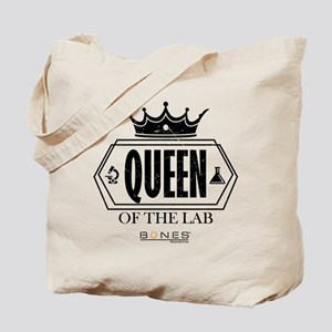 Bones Queen of the Lab Tote Bag