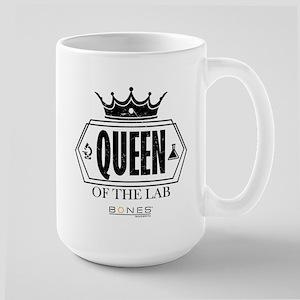 Bones Queen of the Lab Large Mug