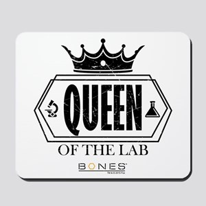 Bones Queen of the Lab Mousepad