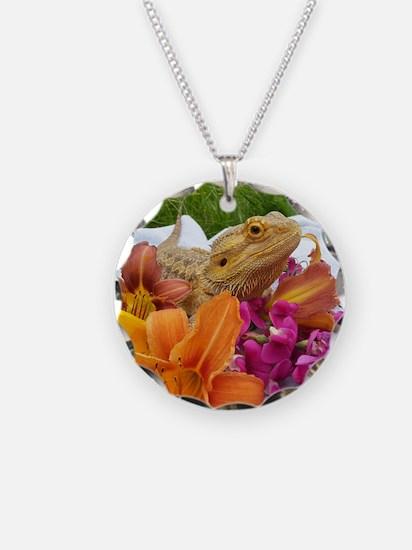 Floral beardie Necklace