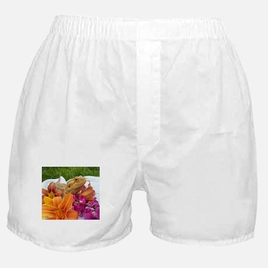 Floral beardie Boxer Shorts