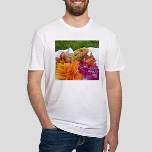 Floral beardie T-Shirt