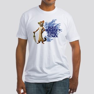 Ice Age Rule Fitted T-Shirt