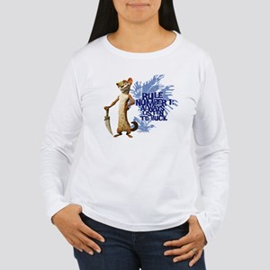 Ice Age Rule Women's Long Sleeve T-Shirt