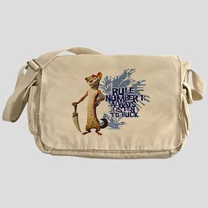 Ice Age Rule Messenger Bag