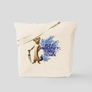 Ice Age Rule Tote Bag