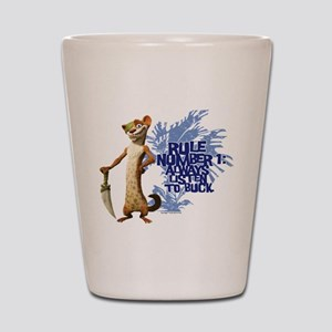 Ice Age Rule Shot Glass