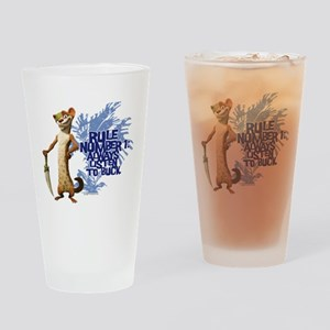 Ice Age Rule Drinking Glass