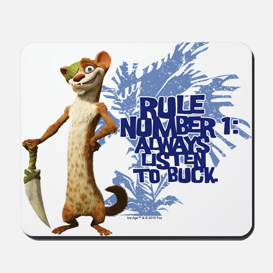 Ice Age Rule Mousepad
