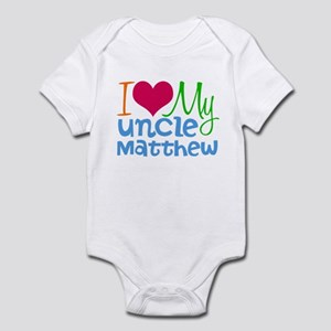 I Love My Uncle Baby Clothes Accessories Cafepress