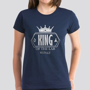 Bones King of the Lab Women's Dark T-Shirt