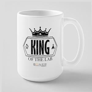Bones King of the Lab Large Mug