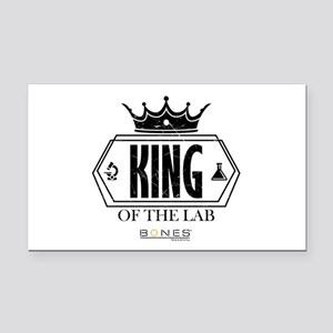 Bones King of the Lab Rectangle Car Magnet