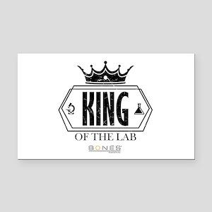 Bones King of the Lab Rectangle Car Magnet