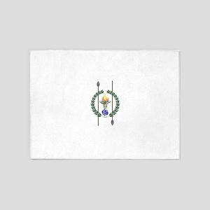 Hellenic Druid Sigil 5'x7'Area Rug