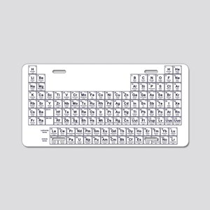 periodic table wa twist aluminum license plate - Periodic Table Name Plate