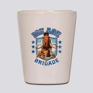 Ice Age Brigade Shot Glass