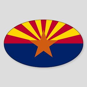 ARIZONA STATE FLAG Sticker