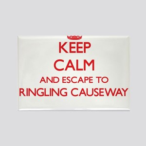 Keep calm and escape to Ringling Causeway Magnets