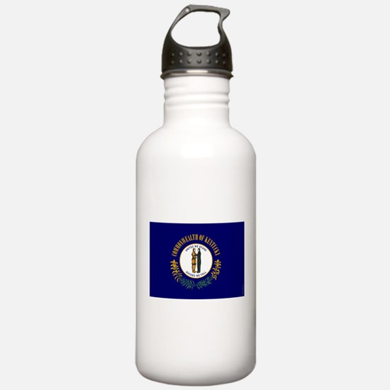 Kentucky State Flag Water Bottle