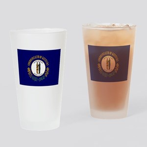 Kentucky State Flag Drinking Glass
