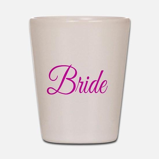 Bride Shot Glass