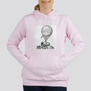 STREAM ON Women's Hooded Sweatshirt