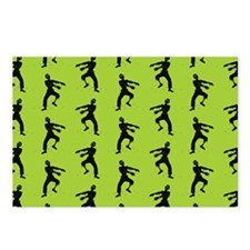 Zombie Pattern Postcards (Package of 8)