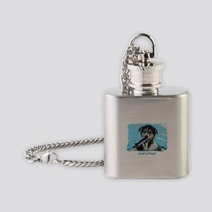 Lets play Flask Necklace
