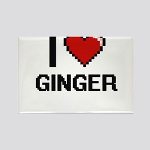 I love Ginger Magnets
