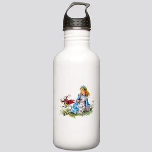 Alice and the White Ra Stainless Water Bottle 1.0L
