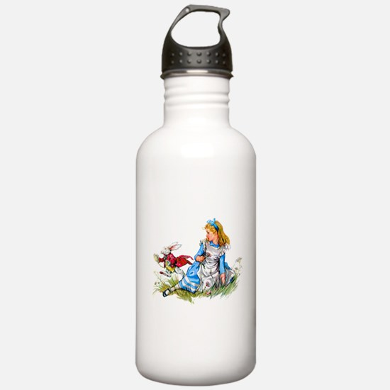 Alice and the White Ra Water Bottle