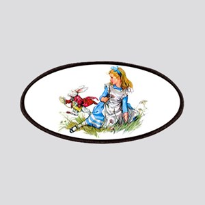 Alice and the White Rabbit Patch