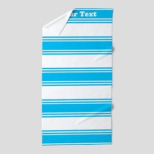 Classic Blue Stripes Beach Towel