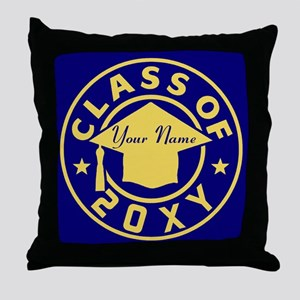 Class of 20XX Graduation Throw Pillow