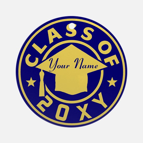 Class of 20XX Graduation Ornament (Round)
