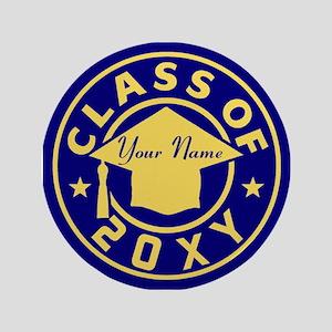 Class of 20XX Graduation Button