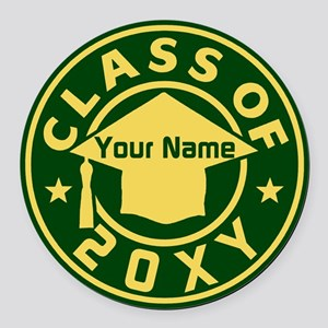 Class Of 20xx Round Car Magnet