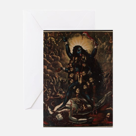 Unique Kali Greeting Card