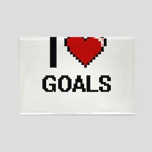 I love Goals Magnets