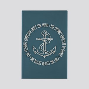 The Realist Sailor Rectangle Magnet