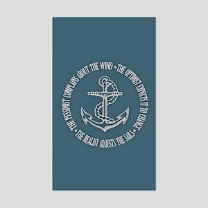 The Realist Sailor Sticker (Rectangle)