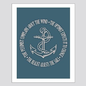 The Realist Sailor Small Poster