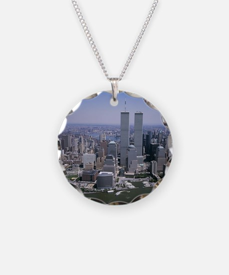 Cute Twin cities Necklace