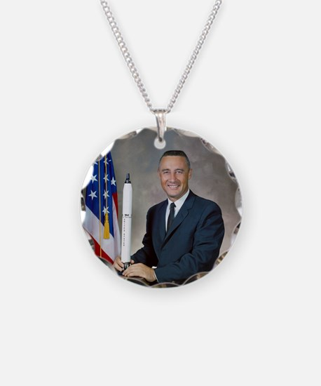 Funny July 4 Necklace