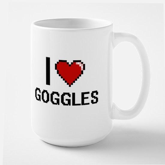 I love Goggles Mugs