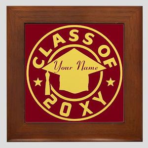 Class of 20XX Graduation Framed Tile