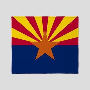 ARIZONA STATE FLAG Throw Blanket