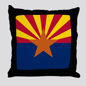 ARIZONA STATE FLAG Throw Pillow