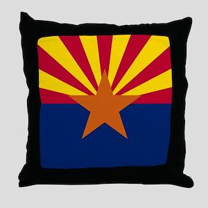 ARIZONA STATE FLAG Throw Pillow